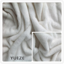 100% polyester knitted faux fur fabric for toys blanket garment