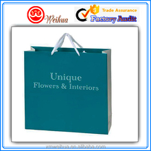 Unique designed custom Boutique strong style color paper gift bag
