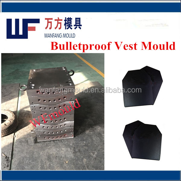 hydraulic press for bulletproof vest molding