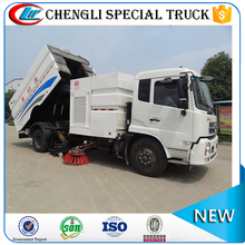 DongFeng 4x2 parking lot vacuum truck road sweeper for sale