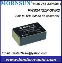 PWB4812ZP-3WR2 12V 3W dc dc power Mornsun PWB2412ZP-3WR2