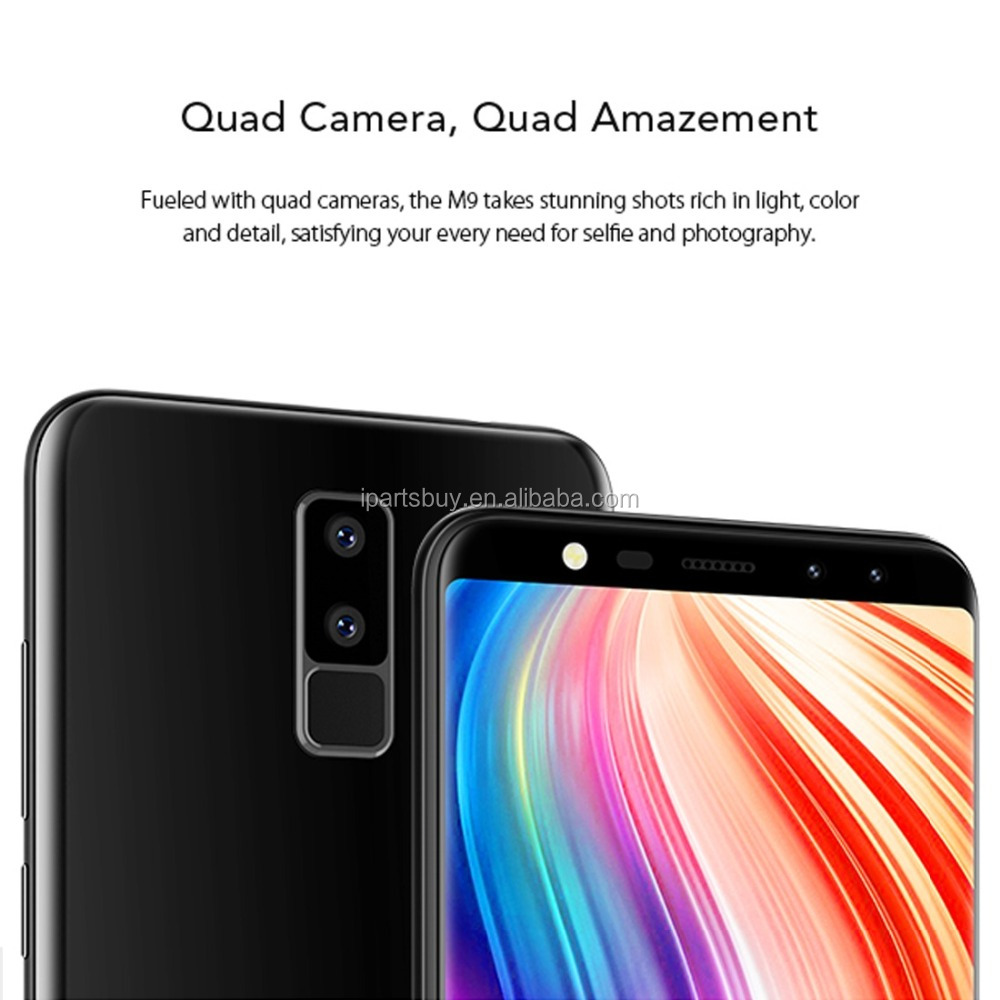 2018 Presales Mobile <strong>Phone</strong> 3G LEAGOO M9 <strong>Android</strong> <strong>Phone</strong> 5.5 inch Dual Back Cameras + Dual Front Cameras with Finger ID Dual SIM