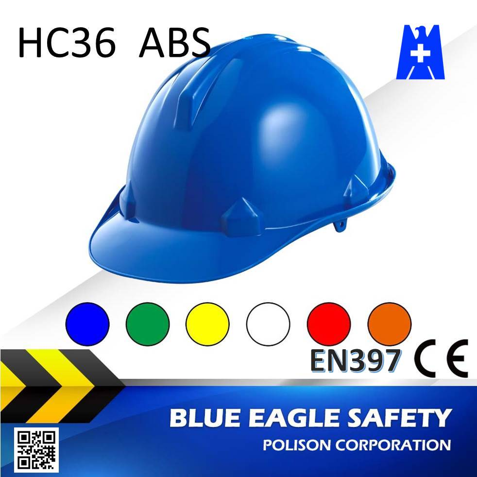 Blue Eagle HC36BL blue safety helmet