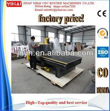 Cheap Jinan YIHAI YH-1325(1300*2500*200MM) woodworking 3d advertising cnc machinery