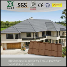 Durable stone coated cheap clay roof tile price