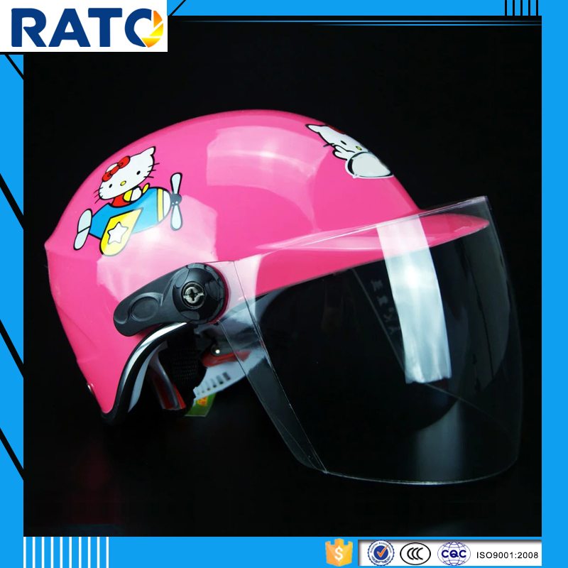 Colorful child motorcycle helmet accessories for sale cheap