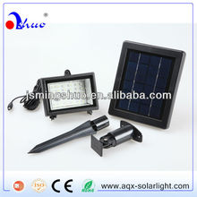 Green energy, solar LED garden lighting
