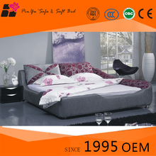 Good quality round bed sofa, folding beds for bedroom furniture sets with low price in living room