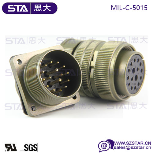China high quality military connector M+F Connector MIL-C-5015 Series