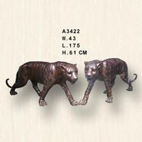 Modern house tiger sculptures for sale