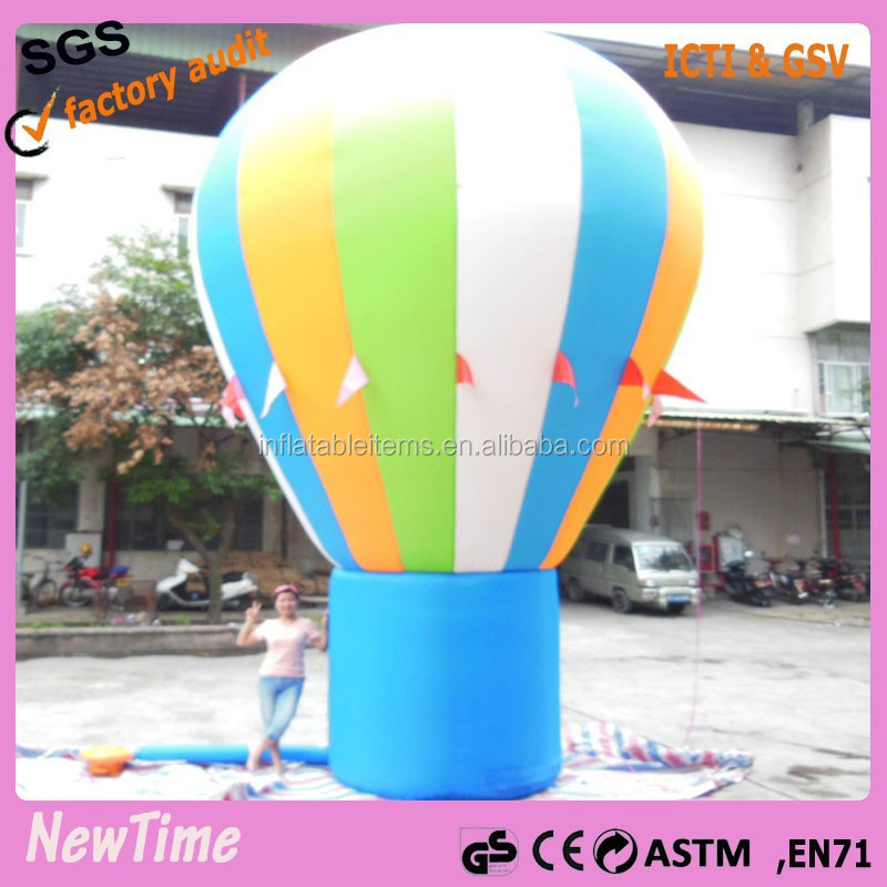 giant customized inflatable earth ground balloon for great events