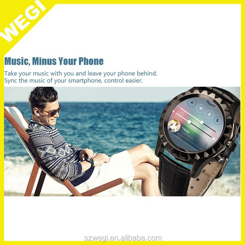 hot Bluetooth metal Smart Watch 1.3MP heart rate Camera SmartWatch For Samsung HTC Iphone 6 plus IOS Android Moblie Cellphone