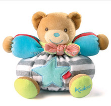 plush baby bear toys / baby sleeping bear toys