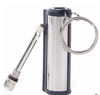 Outdoor Camping use Flints metal match fire starter lighter With Key Chain Silver