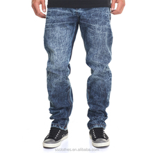 Custom new style jeans no name brand mens denim jeans pants