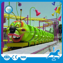 Popular!! Outdoor Kids Electric Mini Track train roller coaster amusement game rides machine