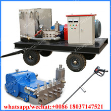 Popular 550bar Water Jetting Tank/Vessel Cleaning Machine