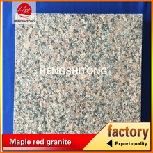 imperial red granite stone coated roof tile