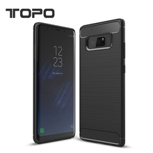 Shockproof TPU case mobile phone back cover case for samsung galaxy note 8