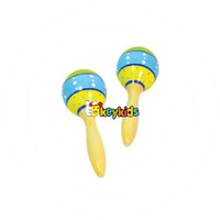 Wholesale Educational Baby Wooden Toy Maracas