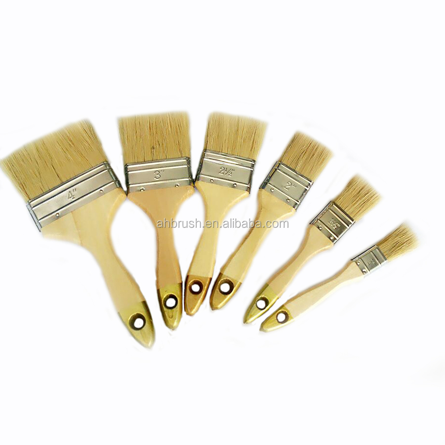 Best CleaningTools Pure hog bristle Painting cleaning tools Brush wall paint brush Best cleaning Tools from chinese manufacture