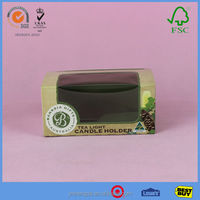Foldable Beautiful Cardboard Box For Cake With clear pvc window