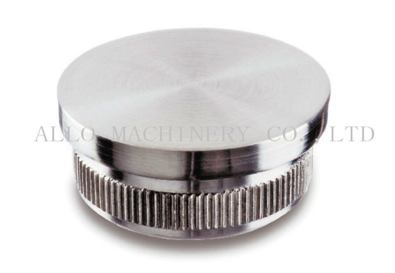 High quality Stainless steel aluminum pipe end cap connect for balustrade