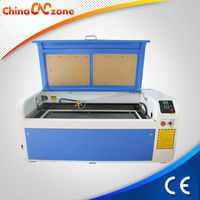 Rotary Axis Attached 80w CO2 Macihe Laser Printing on Glass