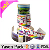 Yason self adhesive label sticker printing company logo stickers cartoon label/sticker