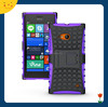 China wholesale! low factory price 2 in1 tpu&pc armor cover case for nokia lumia 730