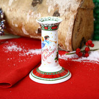 2016 New design Ceramic Christmas Candle