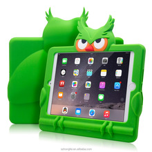 2017 Hot High Quality Kids 7 inch Cute Animal Shape Tablet Case With Protective Shockproof Silicone Case For ipad mini