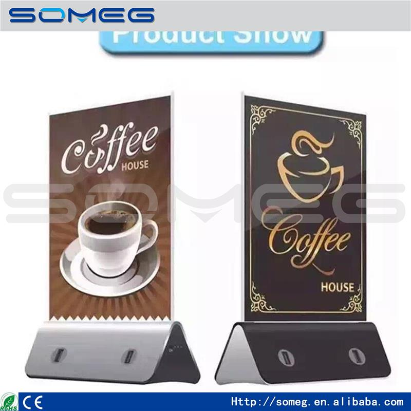 The new large capacity coffee shop advertising mobile advertising powerbank brand mobile power supply