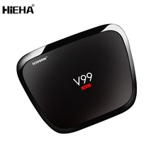 Newest V99 H-Ero 4Gb Ram / 32Gb Rom Full Hd 1080P Video Watch Free Universal Internet Indian White Desi Android Tv Box