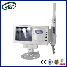 5 inch LCD monitor Intraoral camera and x-ray film reader/dental radiography film viewer