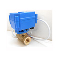 "3/8"" , AC120V Electric motor electric valve for water leakage detection system"