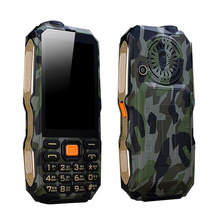 Setro D2017 GSM Sat 3.5 inch Flashlight Rugged Senior Power Bank 9800mAh Satellite Gps Mobile Phone