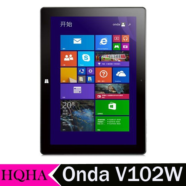 "Original Onda V102W Intel Z3735F Quad Core Windows 8.1 Tablet PC 10.1"" IPS Screen 1920x1200 2GB DDR3L 32GB eMMC Tablet"