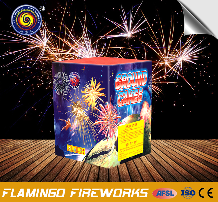Alibaba 36S Ground Cakes the pop cake fireworks for sale