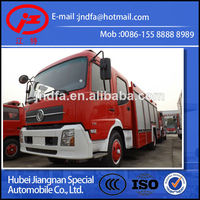 China fire truck brand New JDF5150GXFSG60T DONGFENG DFL water tender fire fighting car water tank fire engine truck 6T 6000L 55M