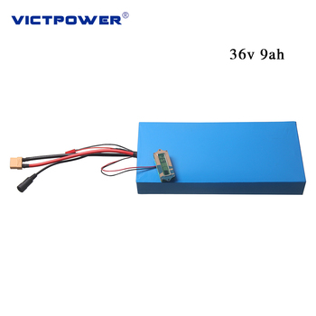 Victpower 36v 9ah lithium battery pack 10s3p for skate board