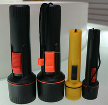 Factory Made 1 led Torch Light 2D Dry Battery Powered Portable LED Flashlight