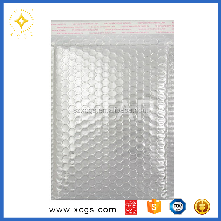 Shipping Chocolate Thermal Insulated Metallised Foil Bubble Mailer Bag