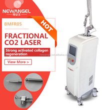 Wrinkles reduction and skin lifting equipment co2 fractional laser portable