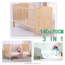 3 IN 1 baby cot bed Converts into a Junior Bed