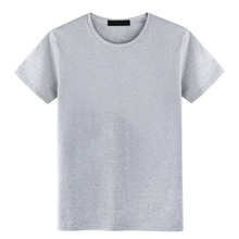 Wholesale china free size 96% cotton 4% elastane print your own blank t-shirt