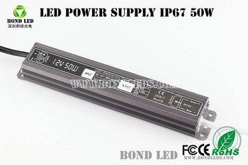 12v 24v 100w Electronic LED Driver ip67 100w 24v led outdoor waterproof switch power supply
