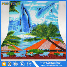China import 100% Cotton Print promotional beach towels with cartoon pictures