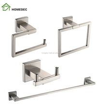 High Quality Stainless Steel Bathroom Accessories Sets For Hotel
