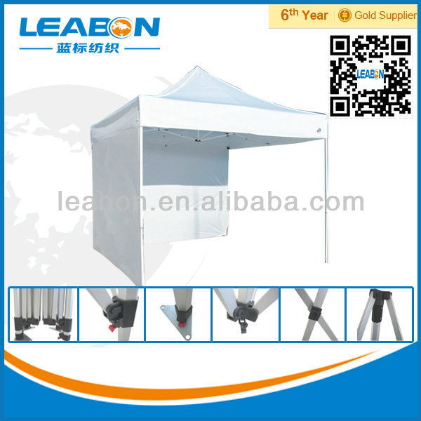 Cheap Public Outdoor Polyester Cover Aluminum Stretch Tent Wtih Side Wall